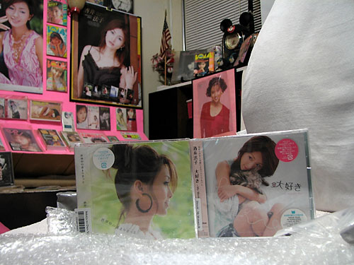 My Noriko Sakai CDs Have Arrived!!!