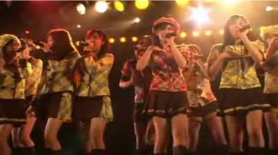 AKB48 Stage Performance