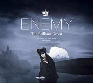 [DFCL-1410~11] the brilliant green - ENEMY (Single CD+DVD)