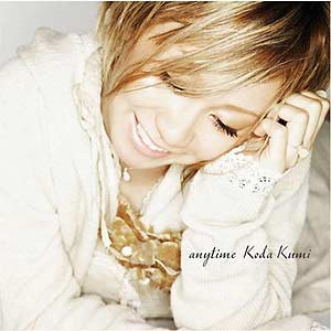 [RZCD-45833] Koda Kumi - anytime (Single CD)