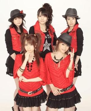 Maeda Yuuka, Yajima Maimi, Shimizu Saki, Bottom Tanaka Reina, Takahashi Ai